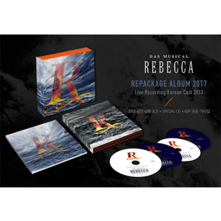 Das Musical REBECCA Repackage Album 2017(Live Recording Korean Cast 2013)